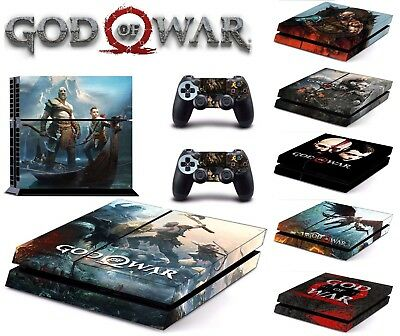 NEW Game God of War 4 Skin For PS4 /Pro /Slim Sony Playstation 4 Consoles Skin