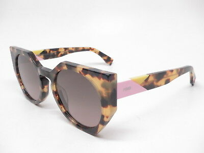 03dd5f3504 AUTHENTIC FENDI FF 0151/S 00F EN Spotted Havana w/Brown Pink 00FEN  Sunglasses - $157.25 | PicClick