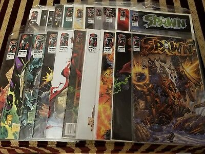 Spawn comic book lot of 34
