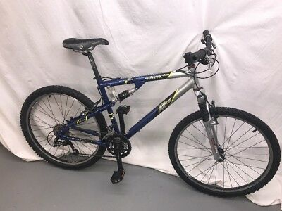 Rare K2 Attack Full Suspension Mountain Bike M L 18 5 Shimano Deore