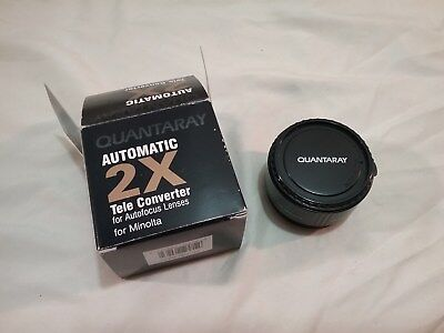 Quantaray Automatic 2X Tele Converter for Autofocus Lenses for Minolta