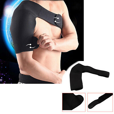 Neoprene Right Shoulder Brace Dislocation Injury Arthritis Pain Support Strap