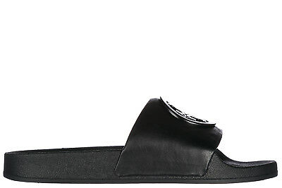 a0a6a8a405f Tory Burch Women s Genuine Leather Slippers Sandals New Lina Black 203