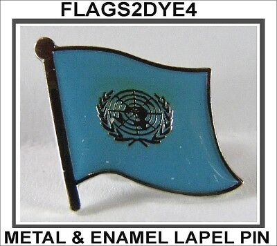 United Nations flag lapel pin badge INCLUDES AUSTRALIA POST TRACKING