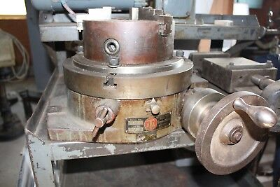 Rotary Table, Troyhe Manufacturing Co., Model R-12, With Three Jaw Chuck Plate