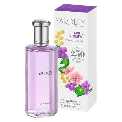 Yardley April Violets EDT Eau De Toilette 125ml