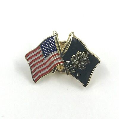 USA Army & Flag Pin Hat or Lapel
