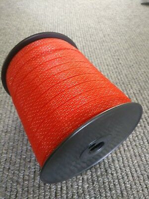BIG HiVis Polytape Electric Fence Fencing Kit Stainless Steel Wire Hot Tape 200m
