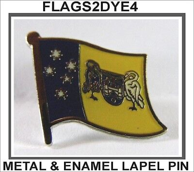 ACT flag Australian enamel lapel pin badge INCLUDES AUSTRALIA POST TRACKING