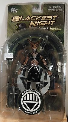 Dc Direct Blackest Night Series 6 Hawkgirl Action Figure ~ Mip ~ Sealed