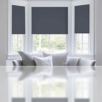 Custom Size Blind Blackout Lights Roller Blinds Commercial Quality Back Coating