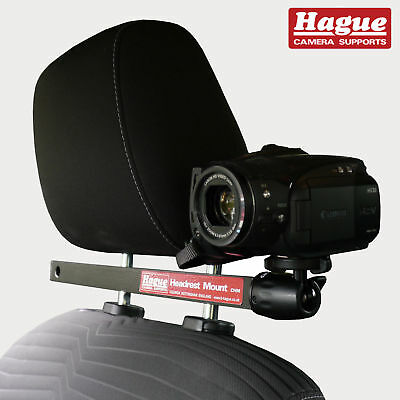 #Hague Video Camera Car Headrest Mount suitable for GoPro Camcorders & more CHM