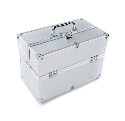 Extra Large Space Storage Beauty Box Make up Nail Jewelry Cosmetic Vanity Case (