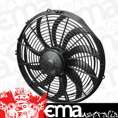 "14"" Electric Thermo Fan (1864 cfm - Puller Type With Curved Blades) (SPEF3657)"
