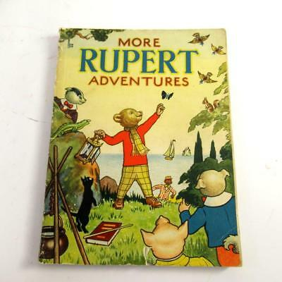 Rupert: More Adventures - Daily Express 1943 Annual - Acceptable Condition