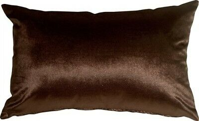 Pillow Decor - Milano 12x20 Brown Decorative Pillow. Best Price