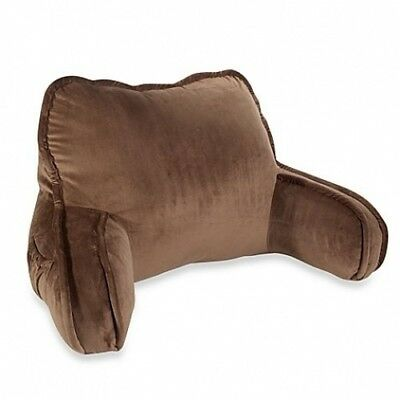 Soft Plush Backrest in Chocolate. Unbranded. Best Price