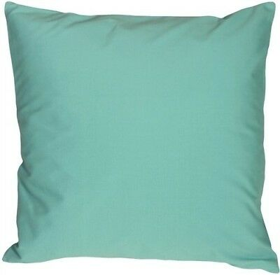 Pillow Decor - Caravan Cotton Turquoise 20x20 Throw Pillow. Shipping Included