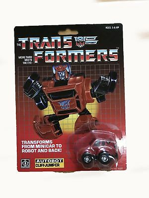 Transformers G1 Autobot CLIFFJUMPER Minibot Gift Christmas Kids Collection Toy