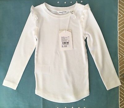 Country Road Baby Girl Long Sleeve Frill Shirt Size 18-24 Months BNWT