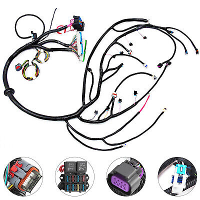 03-07 VORTEC PSI Standalone Wire Harness W/4L60E DBW 5.3 6.0 R ... on pac harness, weasel harness, aftermarket engine wiring harness, hitachi harness, delta harness,