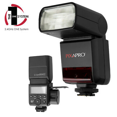 PIXAPRO® Li-ION350II Speedlite with Rechargeable Battery for Canon