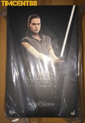 Ready Hot Toys MMS446 Star Wars The Last Jedi 1/6 Rey Jedi Training Daisy Ridley