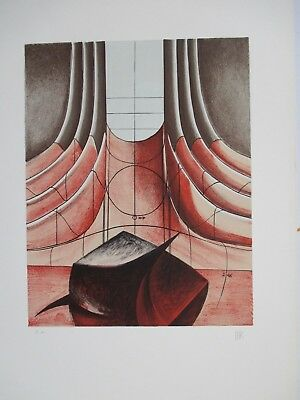 MAN RAY LITHOGRAPH 70x50cm HANDSIGNED