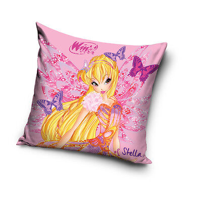 NEW WINX CLUB Stella The Magic is in You! cushion cover 40x40cm