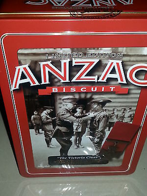 Collectable Anzac Biscuit Tin Limited Edition The Victoria Cross