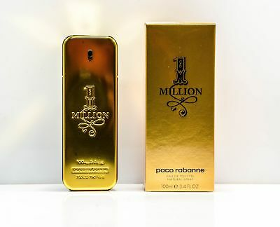 Paco Rabanne One 1 Million Herrenduft Eau de Toilette EdT Spray 100 ml Neu OVP