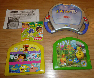 FISHER-PRICE B9376 INTERACTV DVD Learning System With ...