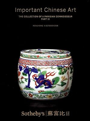 IMPORTANT CHINESE ART: Sotheby's Hardcover HK 16 + results