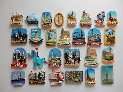 One Selected 3D Souvenir Fridge Magnet from Blackpool