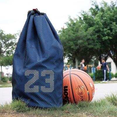 Large Basketball Bags With Soccer Drawstring Mash Pack Fitness Bag For Balls~