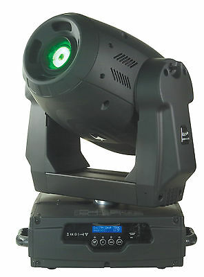 2 x Elation Design Spot 300 Pro Moving Lights with dual road case