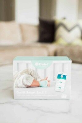 *New~Free Shipping* Owlet BM03NNBBYC Smart Sock 2 Baby Monitor