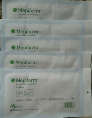 Mepiform 10 sheets 9 x 18cm NEW
