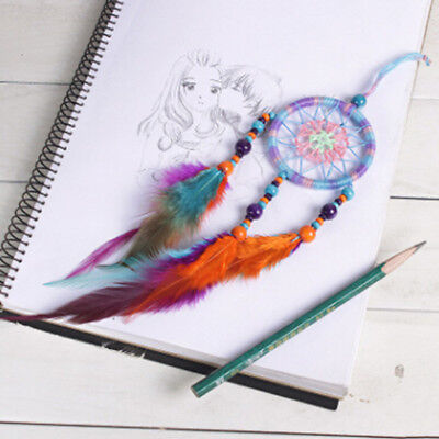 Dream Catcher Handmade With Feather Wall Car Hanging Decorating Ornament Gift
