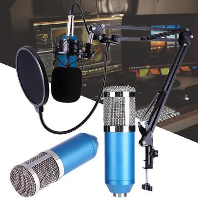 BM800 Studio Condenser Microphone Mic Cardioid Audio Sound Recording Shock Mount
