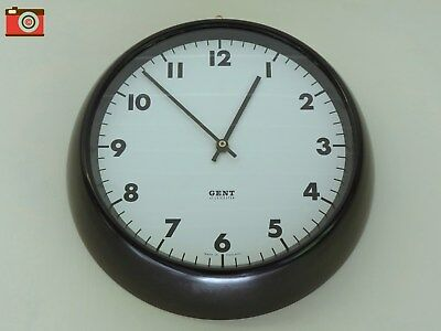 Vintage Gent Of Leicester Wall Clock. Bakelite Surround. Restored And Converted.