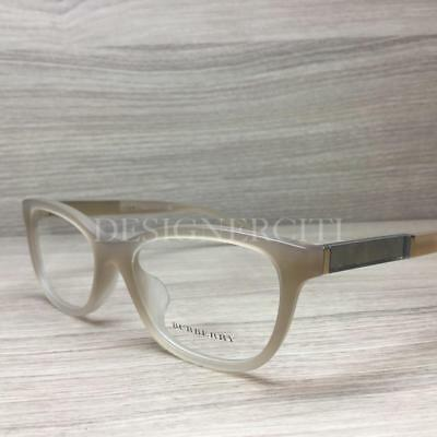 f65fcc3631 BURBERRY BE 2232-F 2232 F Eyeglasses Matte Beige 3574 Authentic 53mm ...