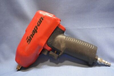 """Snap On MG325 3/8"""" Drive Pneumatic Air Wrench Red With Boot Cover"""