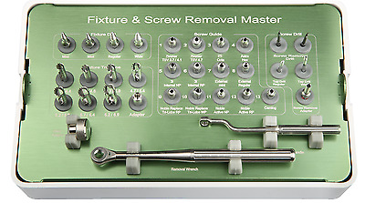 Implant Fixture & Fractured Screw Removal Kit MCT FSRK-02