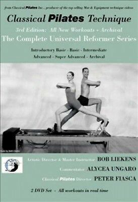 Classical Pilates Technique: The Complete Universal Reformer Series + Archival