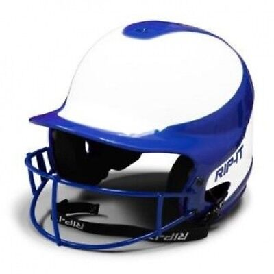 (Medium/Large, Royal) - RIP-IT Vision Pro Softball Helmet ft. Blackout