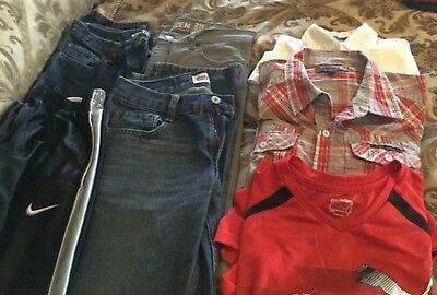 Boys Designer Clothes Lot, Nike Levi Gap Dkny Puma size Large