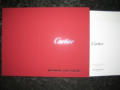 CARTIER Prospekt Katalog WATCHMAKING COLLECTION 2018 + Preise deutsch