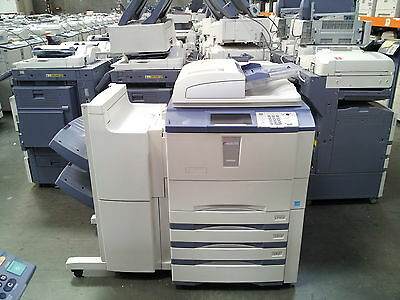 Toshiba E-Studio 655 Copier-Printer-Scanner. Stapling Finisher Included