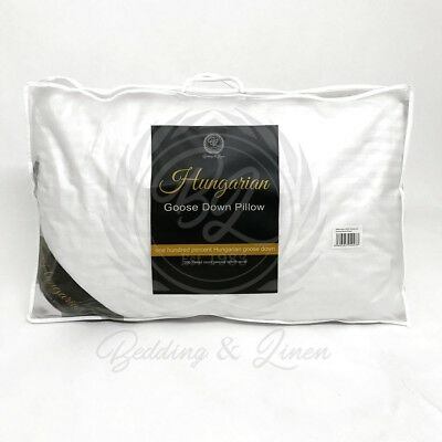 100% Pure Hungarian Goose Down Hotel Quality Pillows
